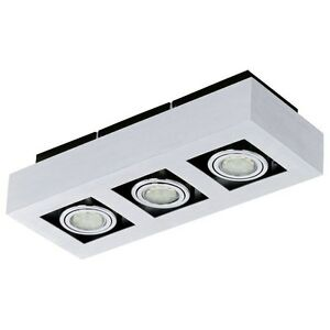 Applique Spotlight Wall 3 LED Lights Adjustable Modern 15W Collection Glo 91354