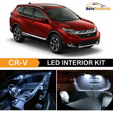 11x White Interior LED Lights Package Deal Kit for 2013 - 2017 Honda CRV + TOOL