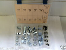 Hydraulic British BSPP Hex Head Cap and Plug Kit with Seals Set 50pc