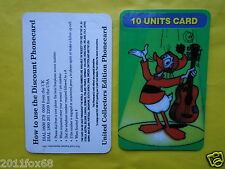 schede telefoniche telefonkarten 1997 phone cards 10 units paperoga topolino gq