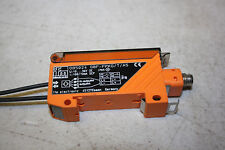 IFM PHOTOELECTRIC SENSOR 0B5024 0BF-FPKG/T/AS USED