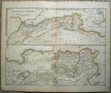 1850 Spruner historical map MAURETANIA, NUMIDIA ET AFRICA PROPRIA (#21)