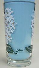 Lilac Peanut Butter Glass Glasses Drinking Kitchen Mauzy 68-5