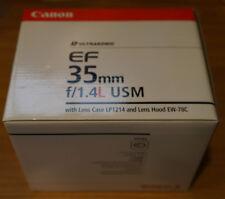 Canon EF 35-35mm f/1.4 L USM Lens NEW