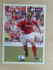 04/09/2007 Nottingham Forest v Peterborough Utd Johnstones Paint Trophy - 07/08