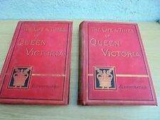 THE LIFE & TIMES OF QUEEN VICTORIA pub 1887/8 in 2 vols,by robert wilson,cassell