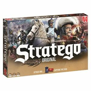 Jumbo Stratego Original Attack And Capture The Flag Fun Children Board Game