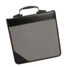 240 Disc CD VCD DVD PU Leather Storage Organizer Holder DJ Equipment Case Black