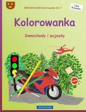 Kleine Entdecker: Brockhausen kolorowanka Vol. 7-kolorowanka: Samochody i....