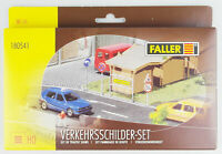 FALLER 180541 H0 Verkehrsschilder-Set international, Bausatz,, OVP, top!