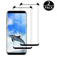 CG_ KQ_ 2Pcs 9H Anti-scratches Tempered Glass Screen Protector for Samsung Galax