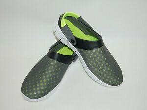 Mens Womens Summer Garden Clog Sandal Beach Mesh Slip On Shoes Size 11 / EUR 44