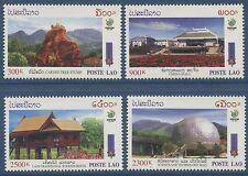 LAOS N°1361/1364** (fleurs) Expo d' horticulture à Kunming, 1999, Set MNH