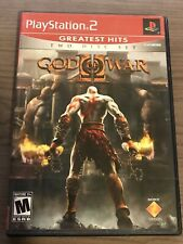 God of War II 2 Sony PlayStation 2  PS2 - 2007 Two Disc Set Complete Tested CIB