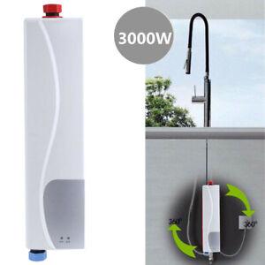 3000W Tankless Elektrische Dusche Sofortige Küche Badezimmer Warmwasserbereiter