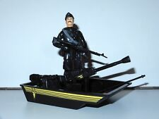 1983 GI JOE / ACTION FORCE SAS BOAT PATROL w/ STAKE-OUT 100% COMPLETE PALITOY