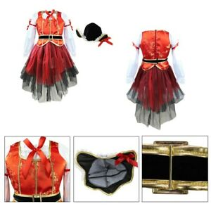Girls Halloween Dress up Suit Kids Cosplay Costume Outfits Children Party Set