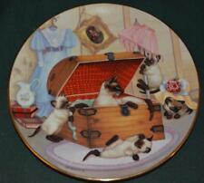 HAMILTON/GRE GERARDI LtEd Plate: Attic Attack - cats