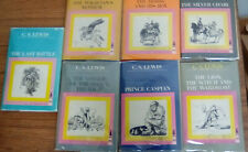 Vintage 1960's set of the Chronicles of Narnia books C.S. Lewis
