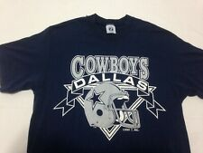 Vtg Dallas Cowboys T Shirt 90'S Logo 7 Nfl Football