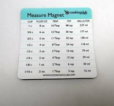 Cooking Club of America Measure Conversion Magnet