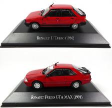 Lot de 2 Renault Fuego + R11 - 1/43 Voiture Miniature Diecast Model Car LAQV2