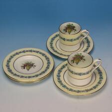 Wedgwood China - Appledore W3257 Pattern - 2 Demitasse Cups & 4 Saucers