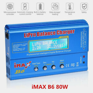 IMAX B6 B6AC LCD-Bildschirm Digital RC Lipo NiMh Akku Balance Ladegerät Lader