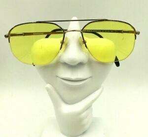 Vintage Carrera 5795 23 Tortoise Gold Aviator Half-Rimmed Sunglasses FRAMES ONLY