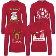 Mens Novelty Christmas Xmas Jumper Sweatshirt Top Sweater Festive Cotton Rich