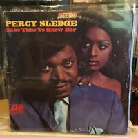 [SOUL/FUNK]~VG LP~PERCY SLEDGE~Take Time To Know Her~[1968~ATLANTIC~Issue]~