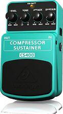 Behringer Distorsore Chitarra Elettrica Effetti Compressor/Sustainer Pedaliera