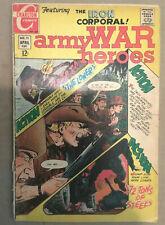 Army War Heroes #31 comic book 1963 series Charlton 1969 Sanho Kim  Rezzonico