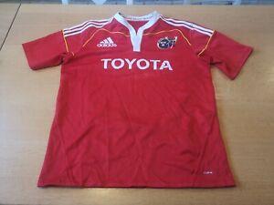 Adidas Munster Rugby SHIRT TRIKOT JERSY CAMISETA MAGLIA size L
