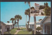 America Postcard - Swiss Colony Motel, Daytona Beach Shores, Florida   RS8356