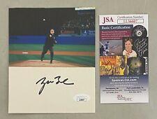 President George W. Bush Signed 4x6 Photo Autographed Auto Jsa Coa