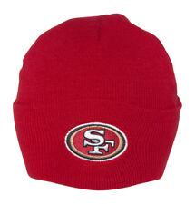 NFL Beanies - San Francisco 49ers - Cuff Maroon