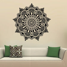 Mandala Flower Indian Bedroom Wall Decal Art Stickers Mural Home Vinyl Family