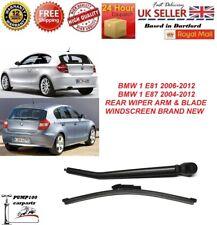 2007-2012 MFWA14BM REAR WINDSCREEN WIPER ARM BLADE SET FOR BMW 1 SERIES