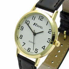 Ravel Faux Leather Wristwatches