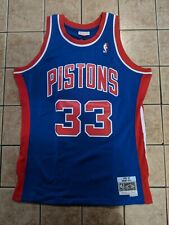 Grant Hill Detroit Pistons Mitchell and Ness M&N Swingman Jersey Men's sz L
