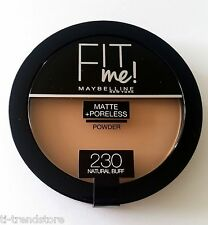 Maybelline Fit Me Matte & Poreless Pressed Kompaktpuder Puder 230 Natural Buff