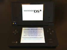Black Nintendo DS Lite & 3 X Games Bundle and  Charger