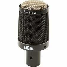 Heil Sound PR 31 BW Short Barrel Large-Diaphragm Dynamic Mic NEW 2-DAY DELIVERY!