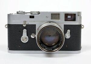 Leica M2 35mm Rangefinder Film Camera w/ Zeiss Sonnar 50mm F1.5 lens *CLA 03/21*