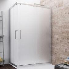 Box doccia 70x90 cabina rettangolare scorrevole altezza 190 cm cristallo opaco