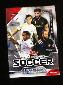 2021 TOPPS MLS MAJOR LEAGUE SOCCER BLASTER BOX SEALED IN HAND! NANI BARCO ROSSI