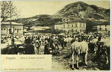 Cartolina Formato Piccolo - Vergato - Fiera Al Piazzale Garibaldi Viaggiata