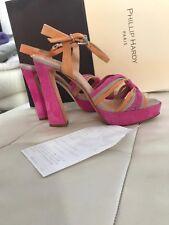 17ae8afc32c5 Phillip Hardy Paris Sandaletten Gr. 38 Damen Schuhe High Heels Wie Neu