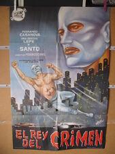 2807      SANTO EL REY DEL CRIMEN enmascarado de plata